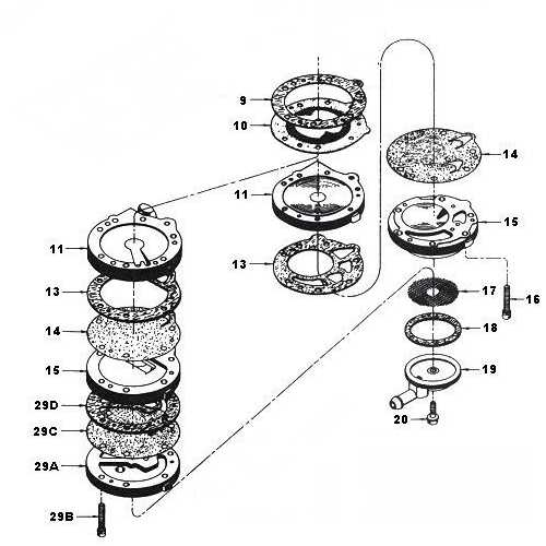 Tillotson Carb Parts Diagram