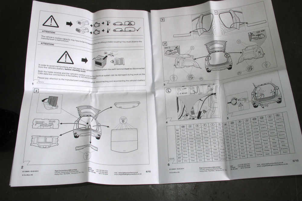 13 pin towbar wiring diagram uk hunter fan capacitor witter fitting: step-by-step - practical advice new & used caravans caravanning ...
