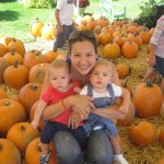 Wordless Wednesday – Pumpkin Patch with the Twins