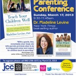 Giveaway:  Win Tickets to the Mandell JCC's 5th Annual Parenting Conference
