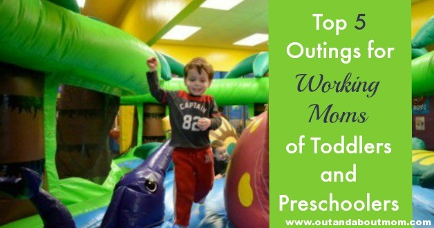 Top 5 Outings for Working Moms_Header_Out and About Mom