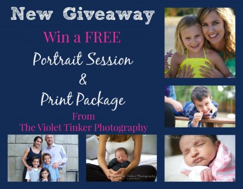 The Violet Tinker Photography giveaway