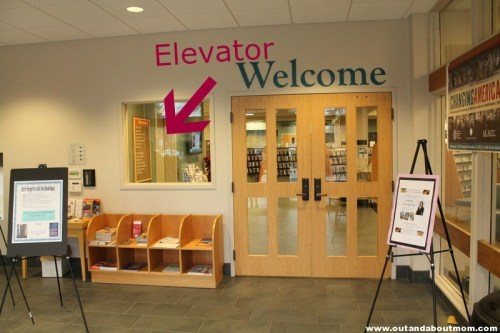 Avon Library_Out and About Mom_Elevator