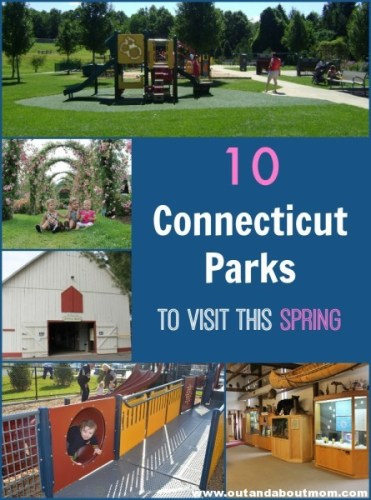 10 Connecticut Parks to visit this spring_Out and About Mom_Header