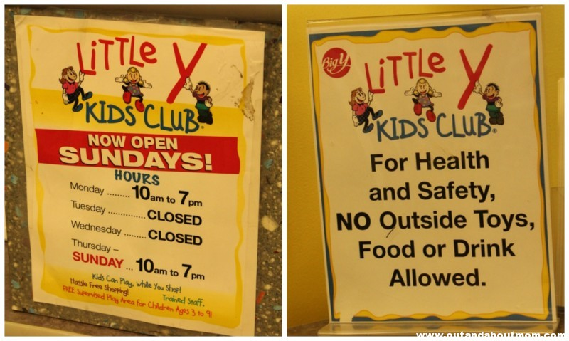 Little Y at Big Y_Out and About Mom_Connecticut_Signs