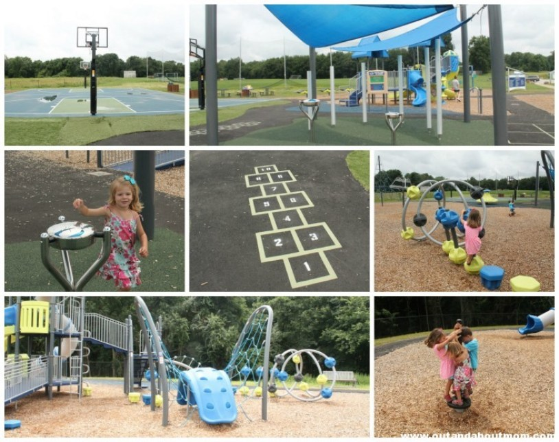 Pease Place_Playground_Out and About Mom_Woodbridge_Collage