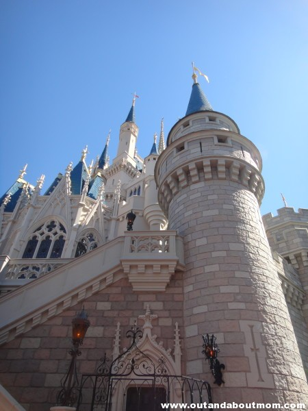 You and your children alike will be in awe when you see Cinderella's Castle in the Magic Kingdom for the first time. Disney Imagineers used forced perspective to make the castle look larger than it truly is.