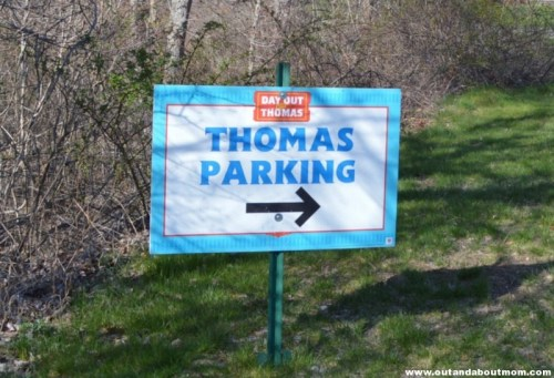 Day Out With Thomas Parking 2