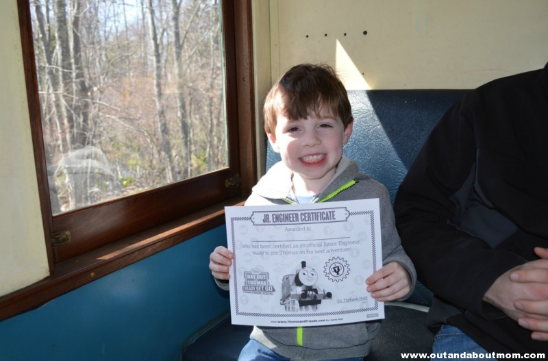 Day Out With Thomas Train Ride 3