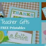 Quick & Easy Teacher Gifts