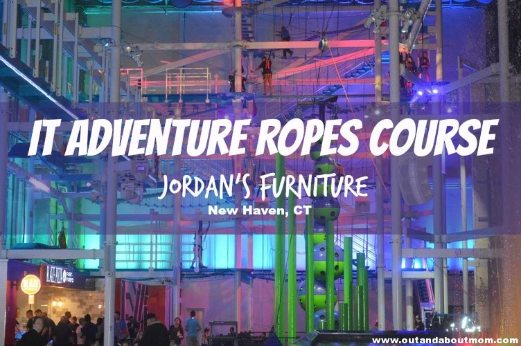 It Adventure Indoor Ropes Course
