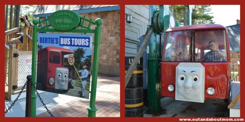 Thomas Land Bertie Bus