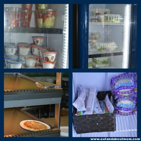 Thomas Land Dockside Diner Food Options
