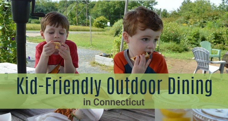 Al Fresco With Kiddos: Family-Friendly Outdoor Dining Spots in Connecticut