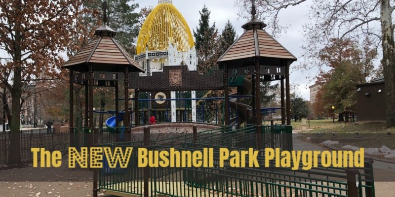 The NEW Playground at Bushnell Park