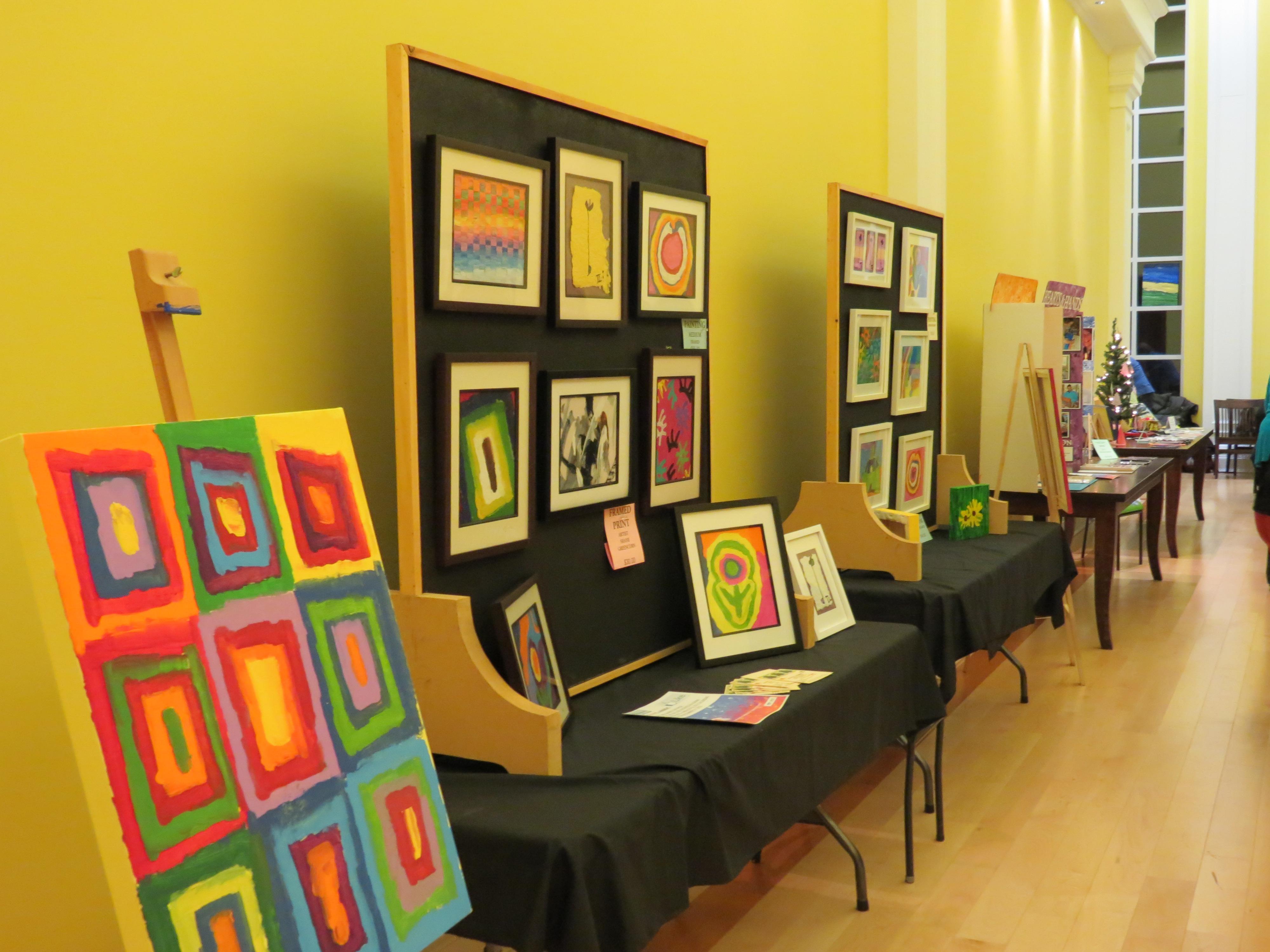Hearts and Hands Art Exhibit