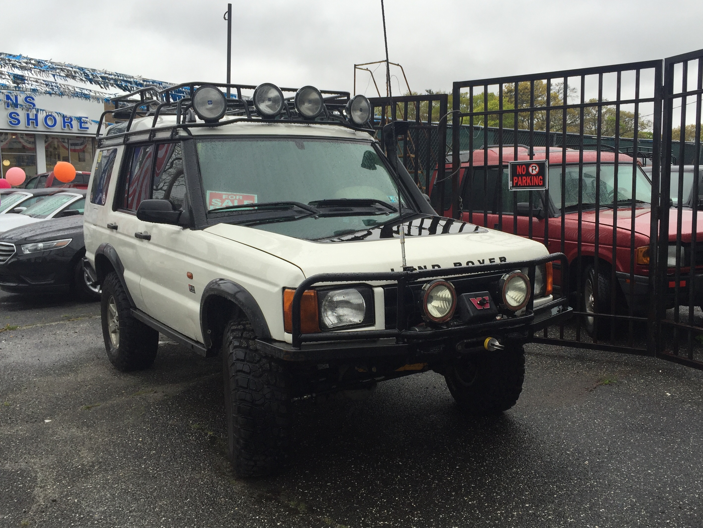 2000 Land Rover Discovery 2 froader – Outback Garage