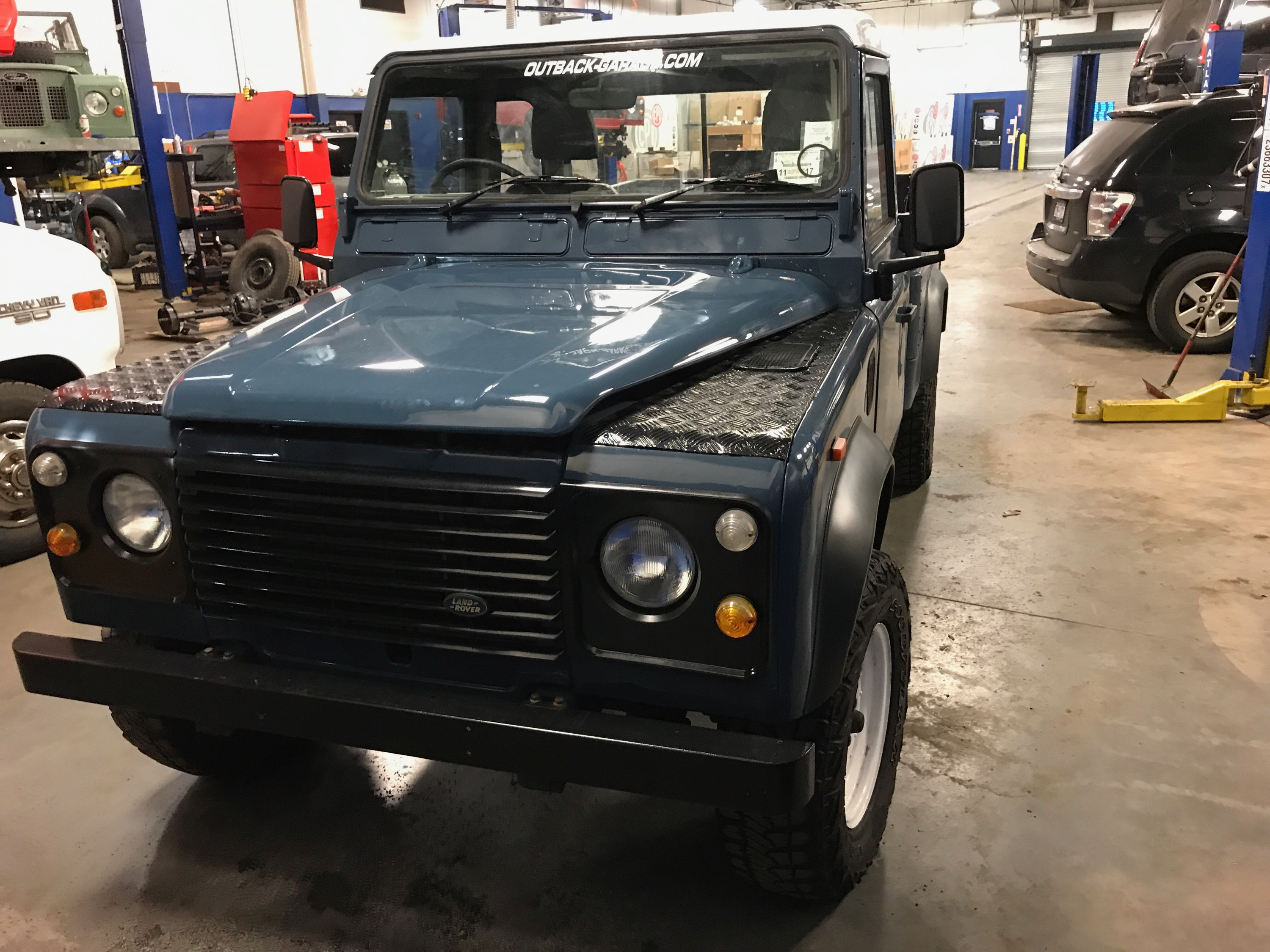 Ready to Go – Outback Garage – Independent Land Rover Specialists