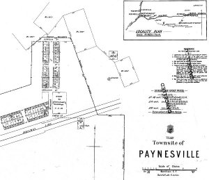 Paynesville Town Map