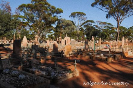 Kalgoorlie Cemetery by Paul Tonkin