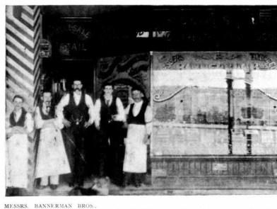 Bannerman Bros, Waddington Buildings 1901