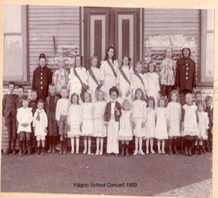 School Concert Yalgoo c1909