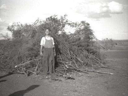 5th Nov 1948, Guy Faulks Night in Austral Rd, Kalgoorlie