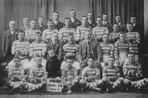 Burbanks Football Team 1913