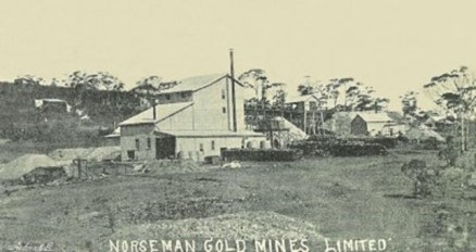 The Lady Mary Mine at Norseman. The gold was discovered there by Sam Pearce in 1894