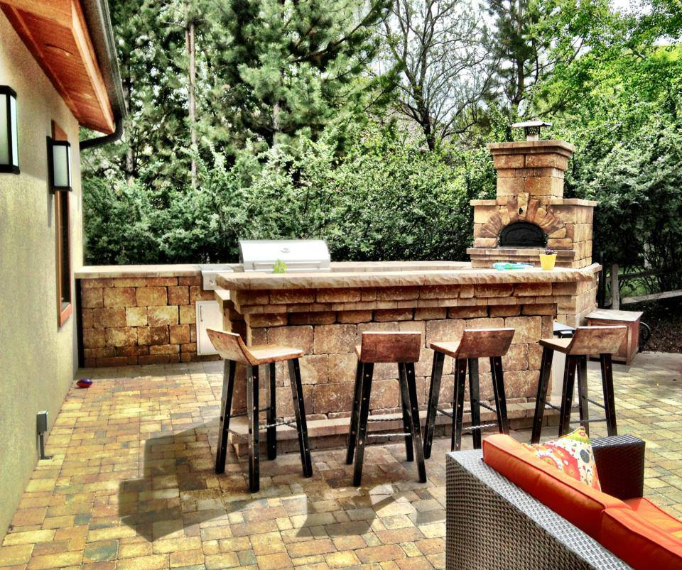 outdoor kitchen cost under cabinet lights how much does an