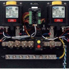 Ac Low Voltage Wiring Diagram Star Delta Connection Outback Type 3 Lithium Bms Dc Distribution Board - Marine