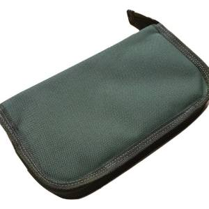 twin bolt pouch olive green