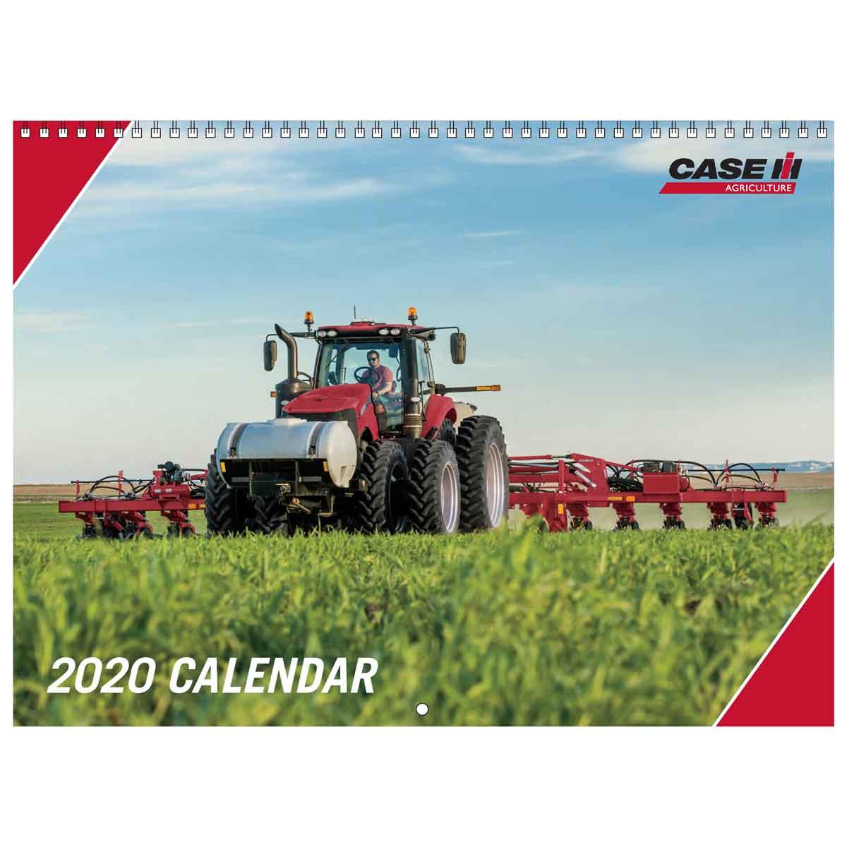 Sm 2020 Case Ih 2020 12 Month Wall Calendar 12 X 12