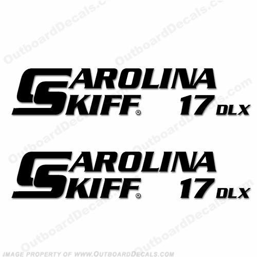 Carolina Skiff Decals
