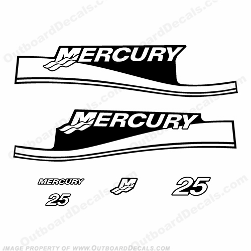 Custom Color Mercury Decals, Page 2
