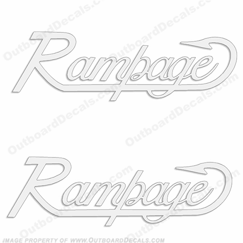 Rampage Decals