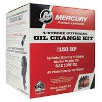 OEM Mercury Marine 150HP FourStroke Outboard 10W-30 Oil Change Kit 8M0107512