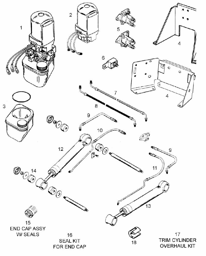 medium resolution of mercruiser trim pump wiring diagram mercruiser outdrive diagram mercury tilt and trim mercury power trim parts diagram