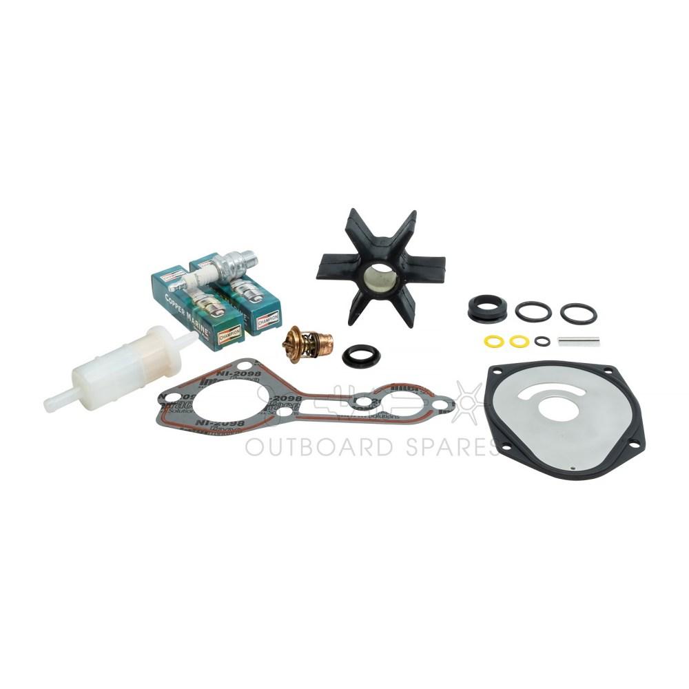 medium resolution of mercury mariner 75 90hp 2 stroke service kit ossk20