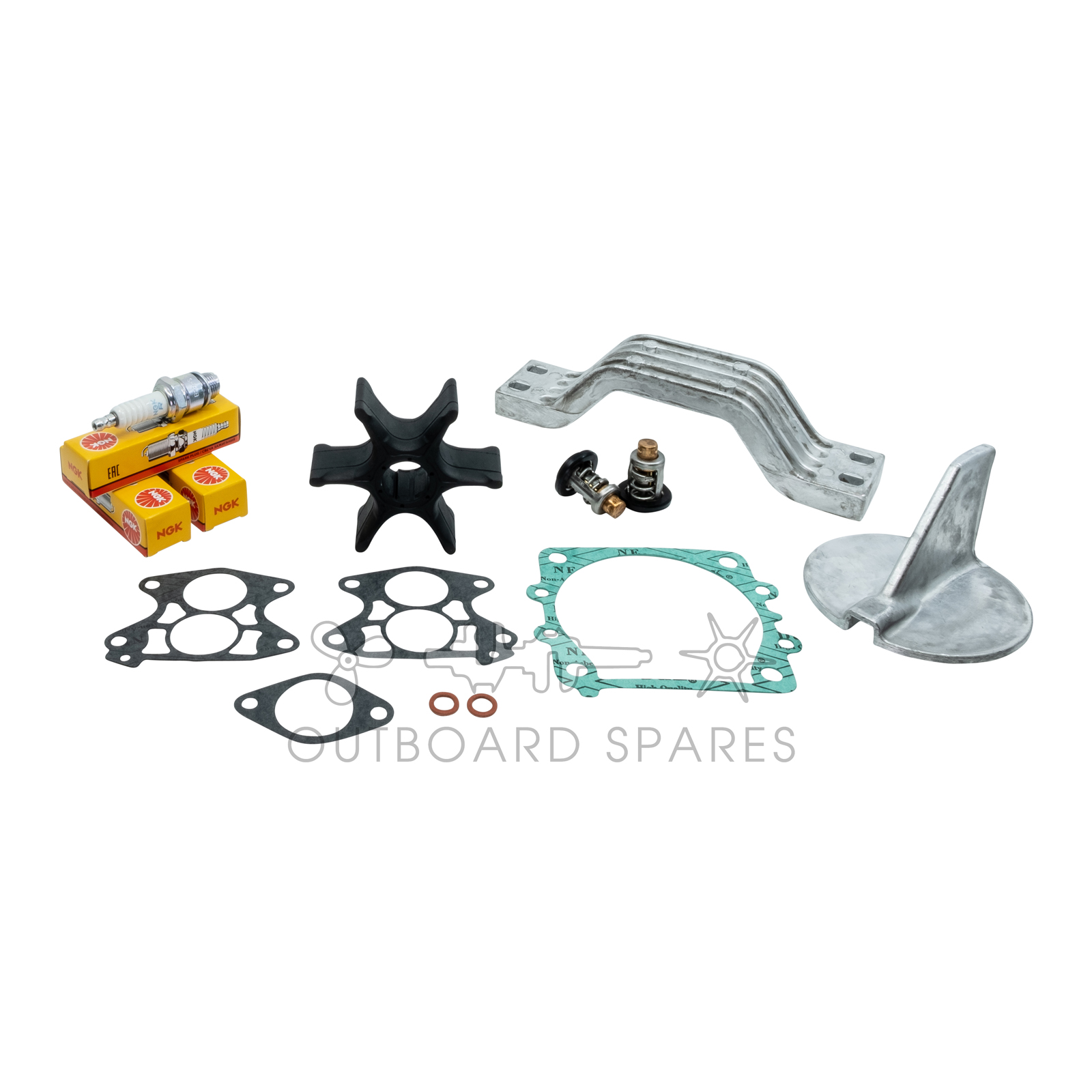 Yamaha 115hp V4 2 Stroke Service Kit with Anodes (OSSK3A