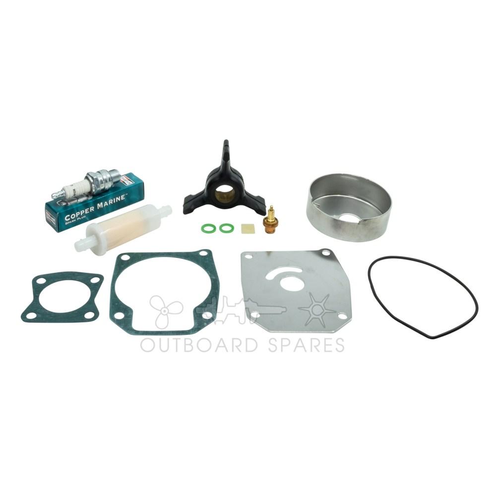 medium resolution of evinrude johnson 40 50hp 2 stroke service kit ossk51