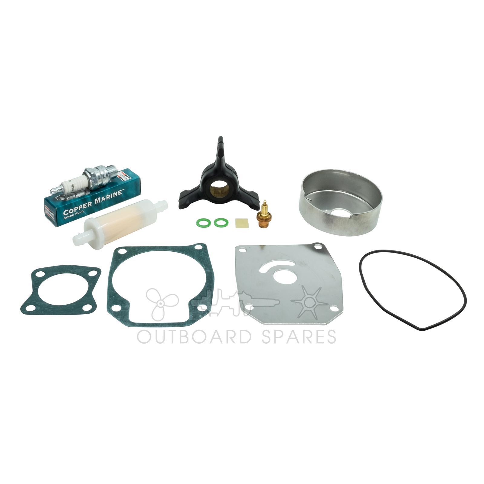 hight resolution of evinrude johnson 40 50hp 2 stroke service kit ossk51