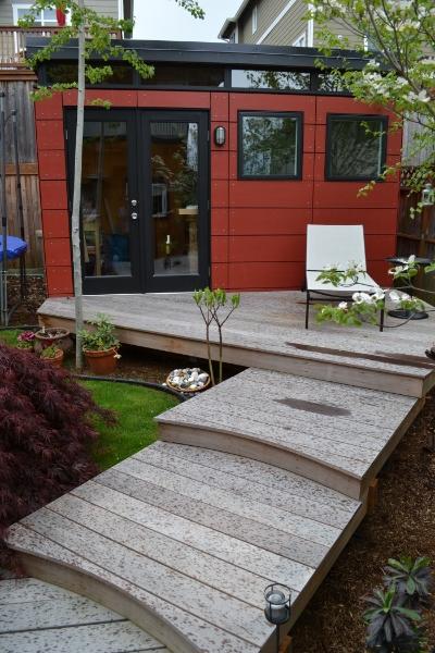 10x12 Backyard Craft Studio  Westcoast Outbuildings