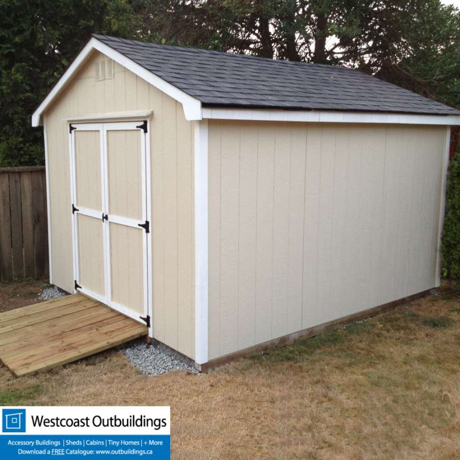 10x12 West Vancouver Shed  Prefab Garden Shed