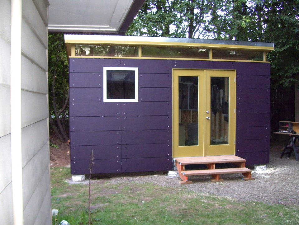 12x16 Backyard Office Kit