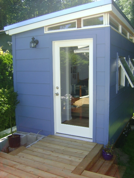 Backyard Bedroom Kit 8 X 12 Teenage Dream Modern Shed Kit