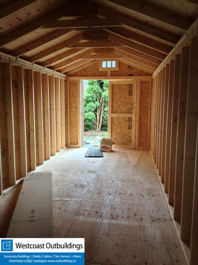 Maple Ridge Storage Shed  Westcoast Outbuildings