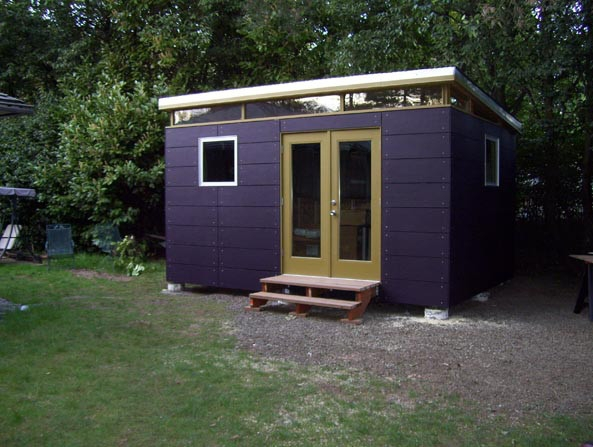 Modern Shed All The Colours Of The Rainbow Benjamin