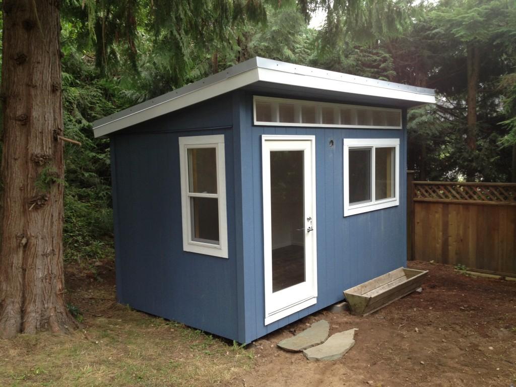 8 x 13 Backyard Office North Vancouver  Westcoast