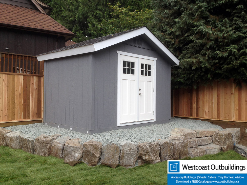 8x12 Craftsman Garden Shed Westcoast Outbuildings